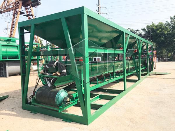 batching machine loading