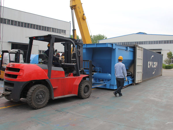 Aimix LB1200 asphalt plant exported to-Indonesia 1