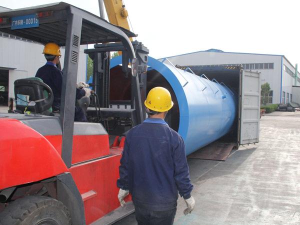 Aimix LB1200 asphalt plant exported to-Indonesia 3