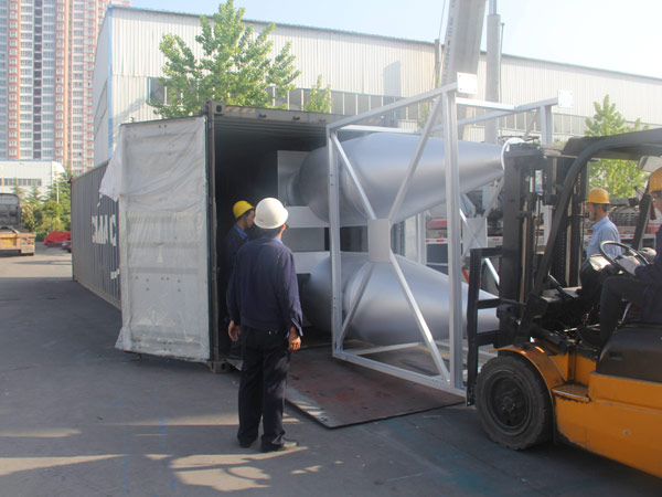 Aimix LB1200 asphalt plant exported to-Indonesia 4