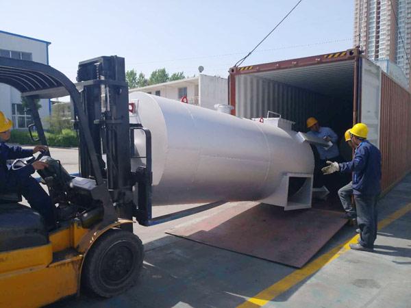Aimix LB1200 asphalt plant exported to-Indonesia 5