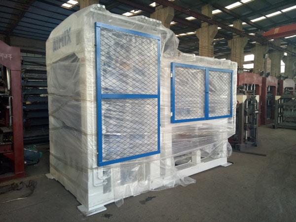 Mesin blok berongga Aimix diekspor ke Bolivia