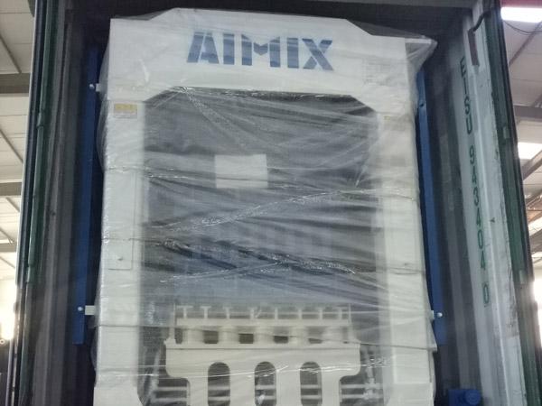 Mesin blok berongga Aimix diekspor ke Dominika