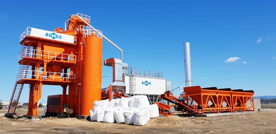 Pabrik pencampur bitumen Dijual