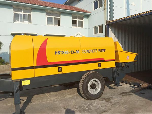 HBTS60 Pompa beton diesel dijual di indonesia