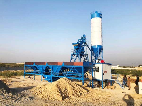 HZS25 pabrik beton