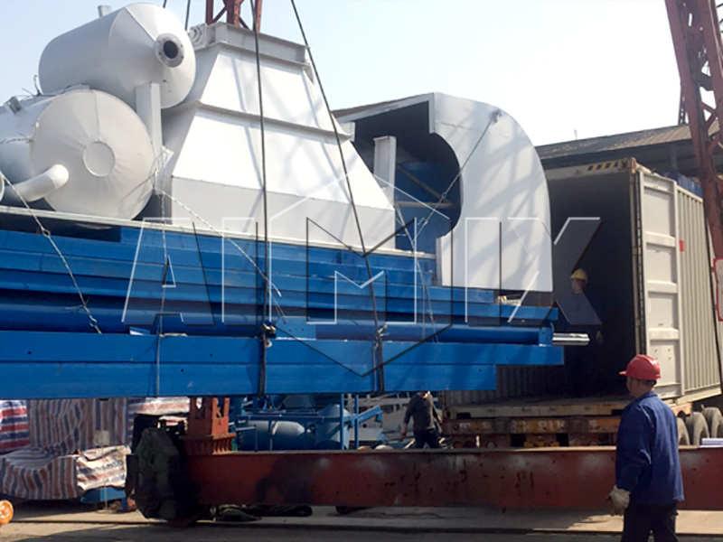 AJ-60 concrete plant exported