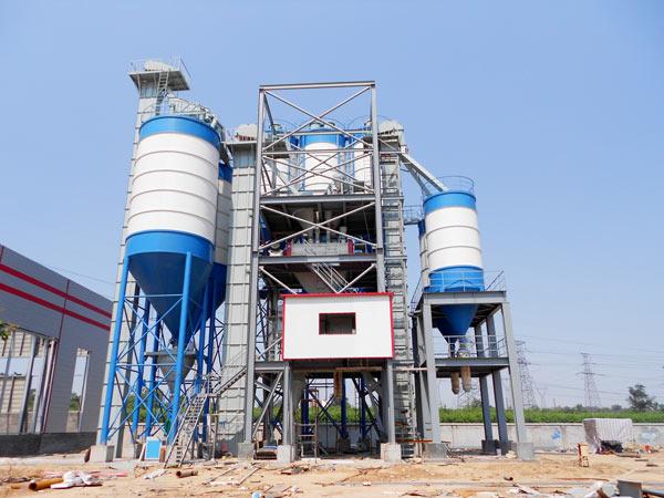 penuh otomatis lini produksi mortar kering