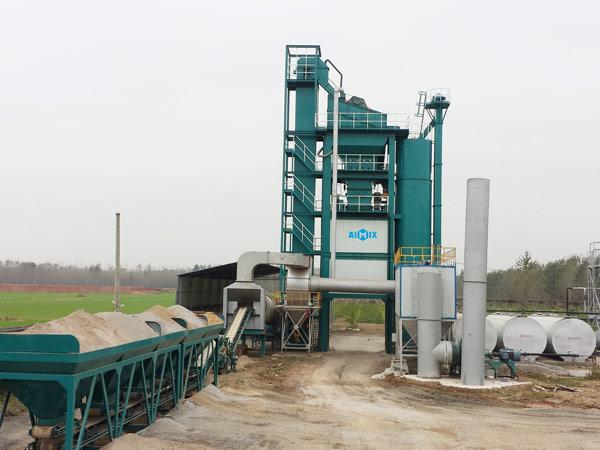 ALQ100 Pabrik pencampur bitumen