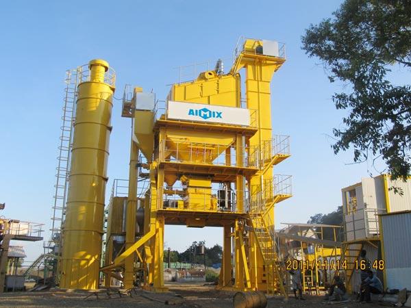 Pabrik aspal hot mix ALQ80 dijual