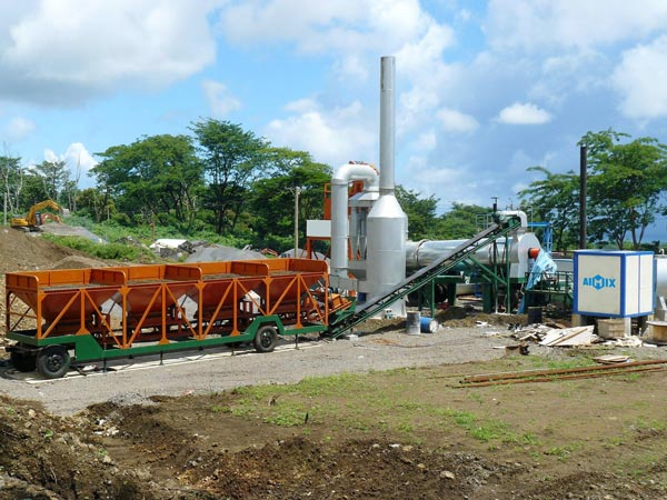 ALT20 mini pabrik pencampuran aspal
