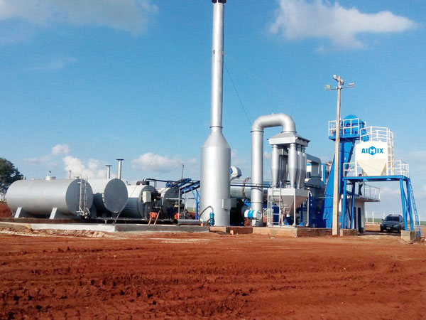 ALT60 pabrik pencampuran aspal seluler