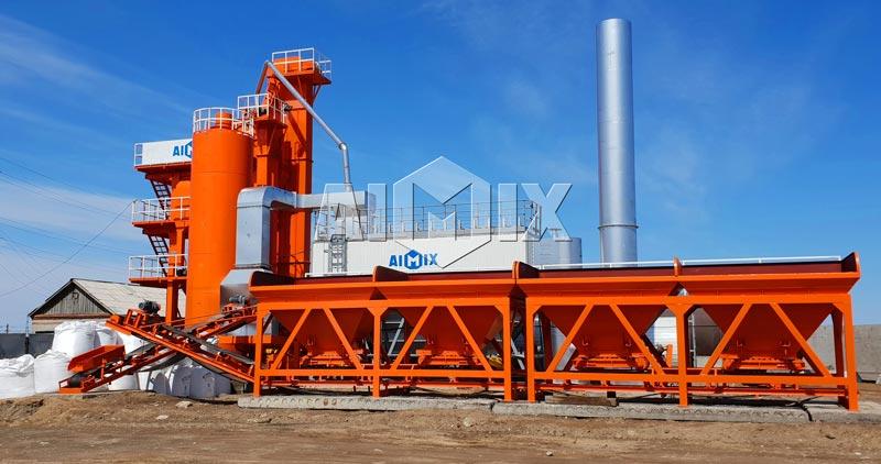 Pabrik aspal Aimix didirikan di Rusia