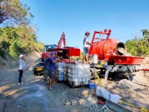 Aimix-concrete-mixer-pump-in-the-Philippines