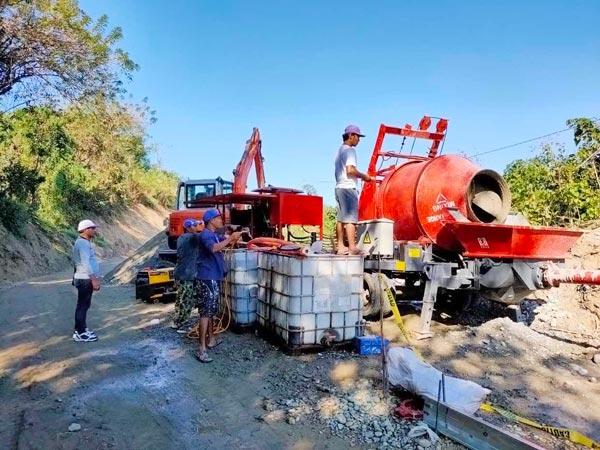 Aimix-concrete-mixer-pump-in-the-Philippines