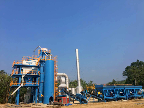 aimix asphalt plant in Indonesia