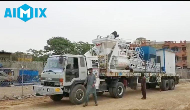 Aimix-concrete-plant-loaded-in-Pakistan-3