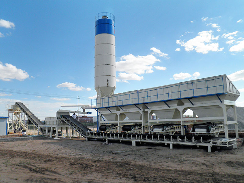stabilized soil mixing plant AIMIX