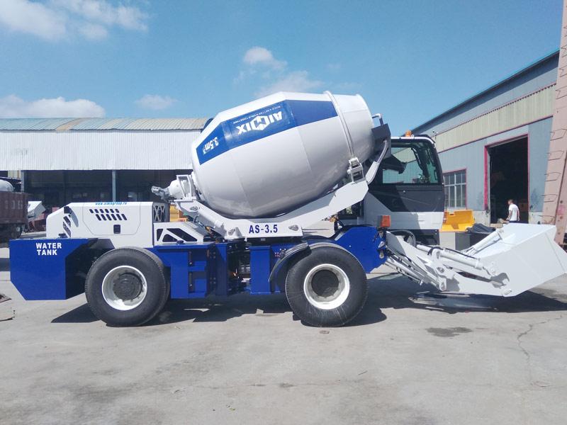 AIMIX self loading mixer sent to Kazakhstan