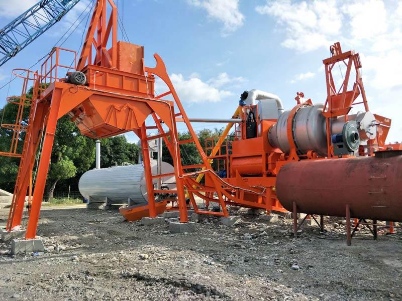 Asphalt Mixing Plant ALYJ60 AIMIX di Filipina