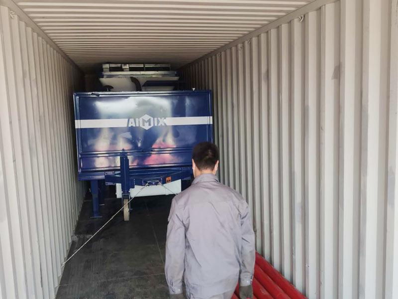 40 pompa pengaduk beton diesel untuk Indonesia
