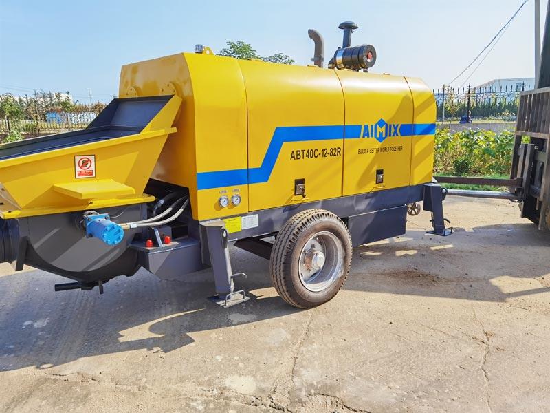 Pompa beton diesel AIMIX ABT40C