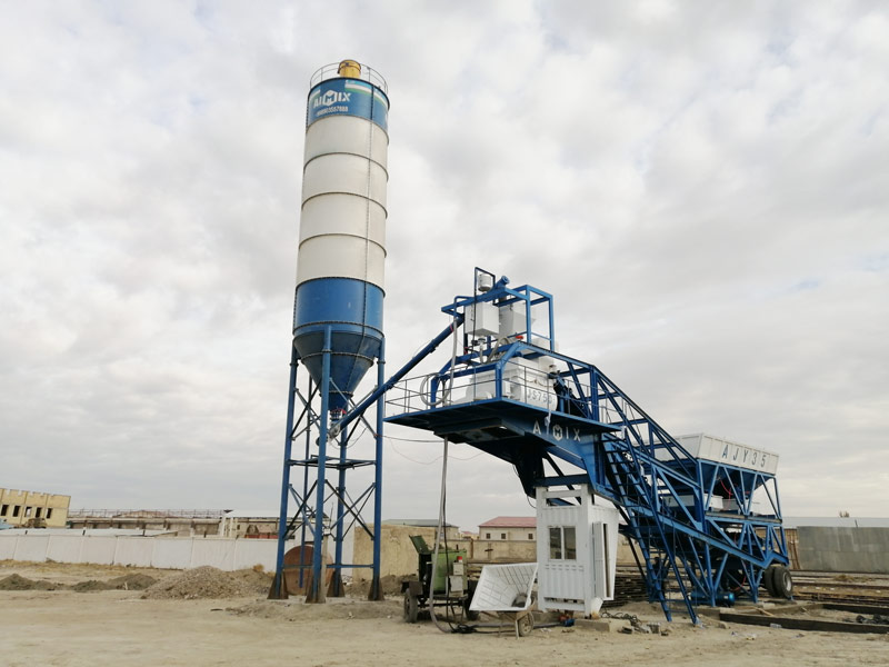 AJY35 Batching Plant Portable