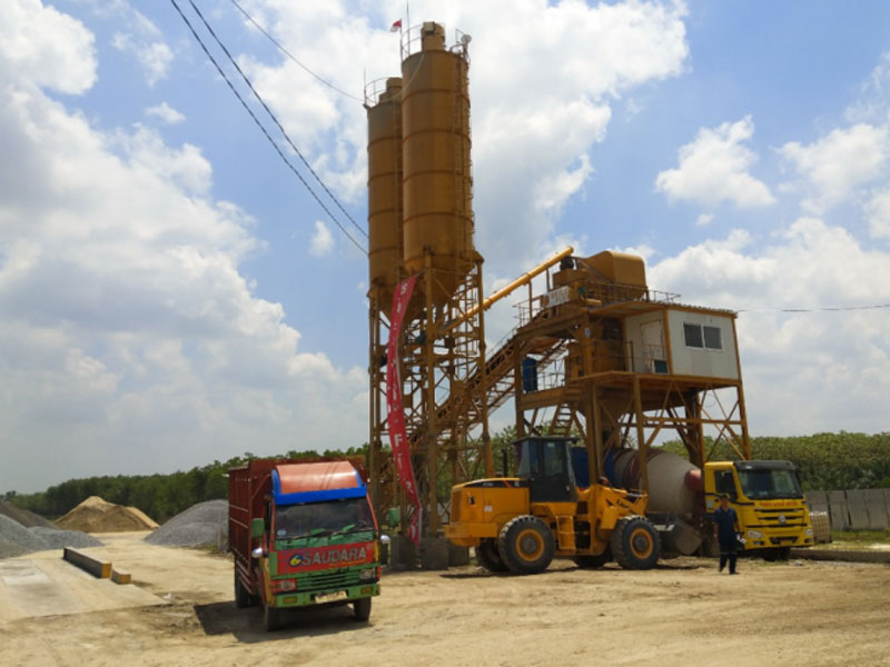 Batching Plant in Lampung Indonesia