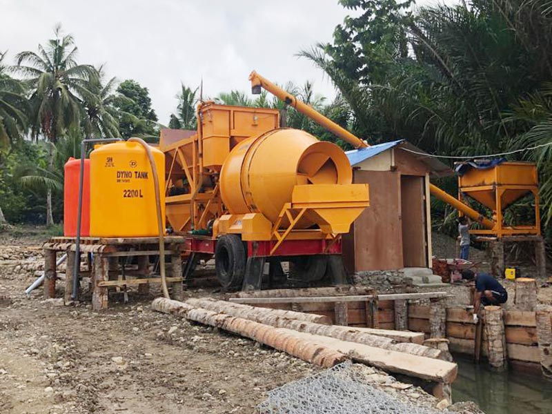 Batching Plant Portable in Indonesia