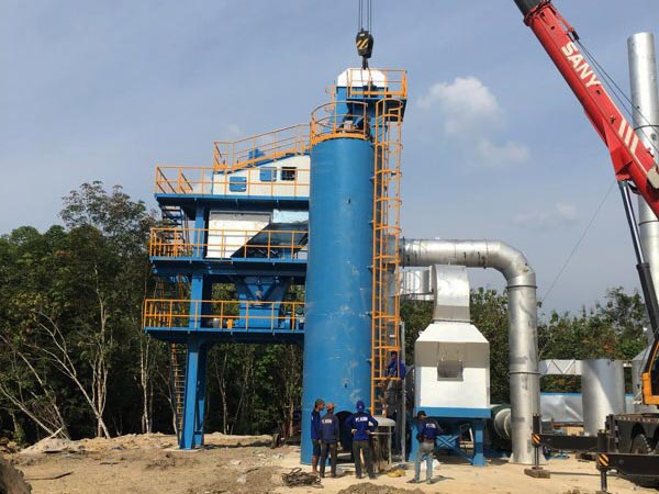 80t asphalt mixing plant in Palembang Indonesia