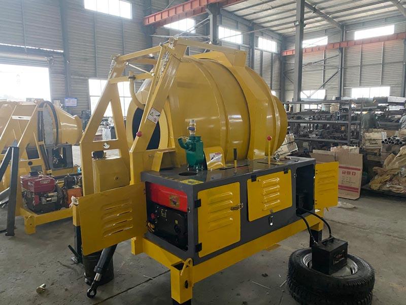 Mixer beton diesel JZR350