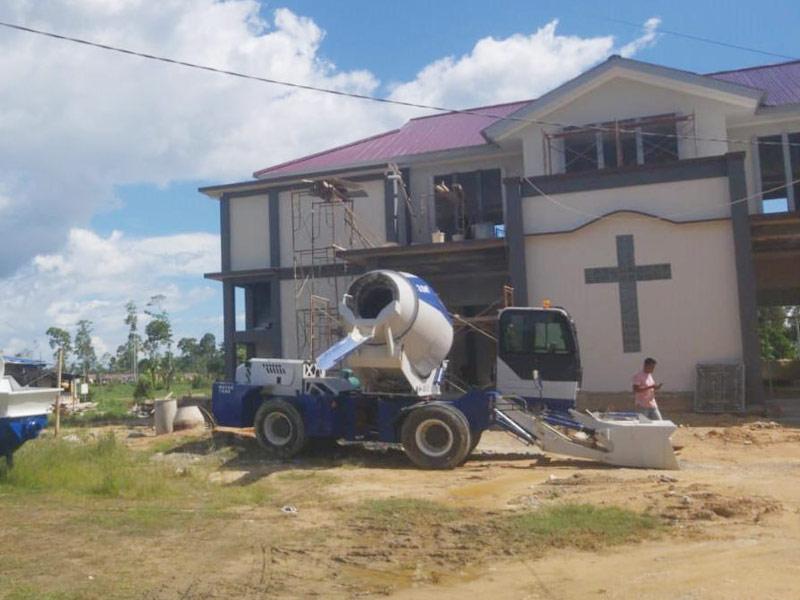 AIMIX 3.5 self loading mixer di Papua Indonesia