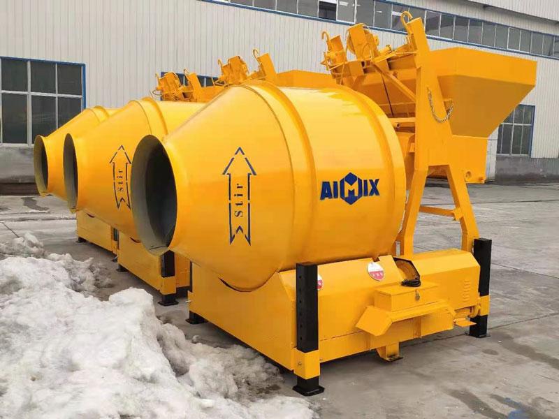 Mixer beton JZM 450 dikirim ke Indonesia