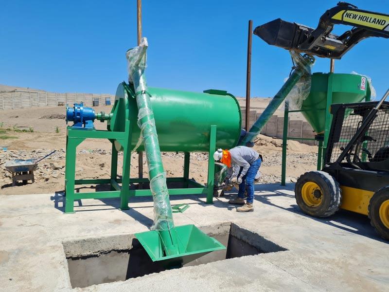 AIMIX Dry Mortar Plant