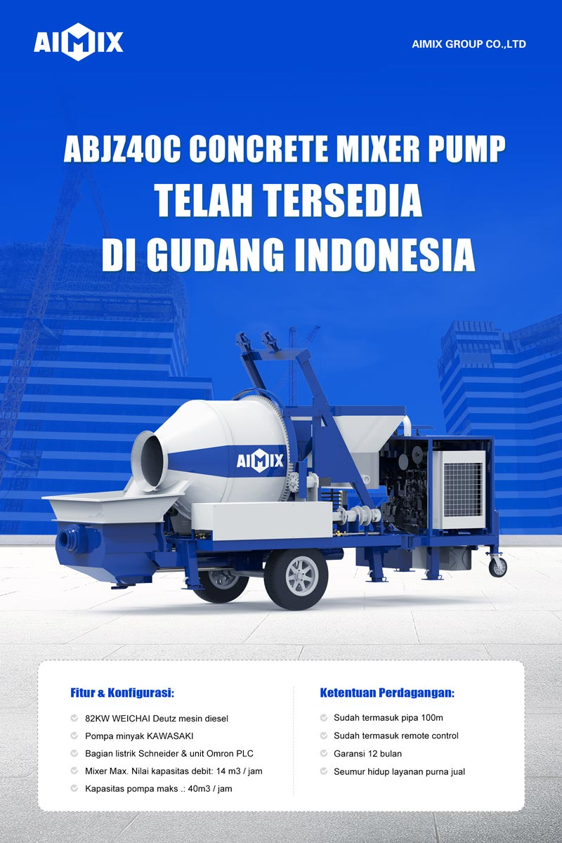 Mixer Pompe Beton