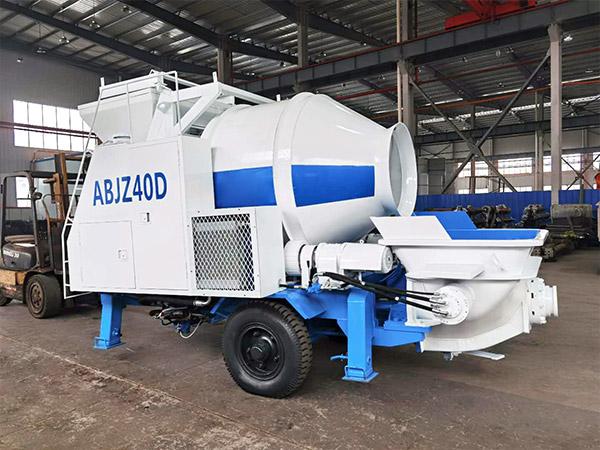 Pompa pengaduk beton listrik ABJZ40DD
