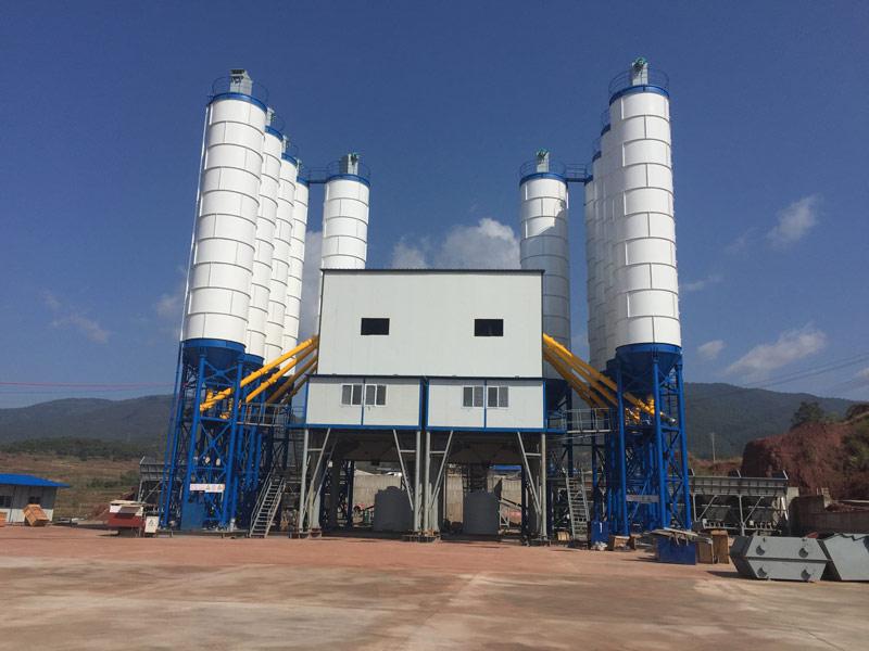 AJ120 batching plant di Uruguay
