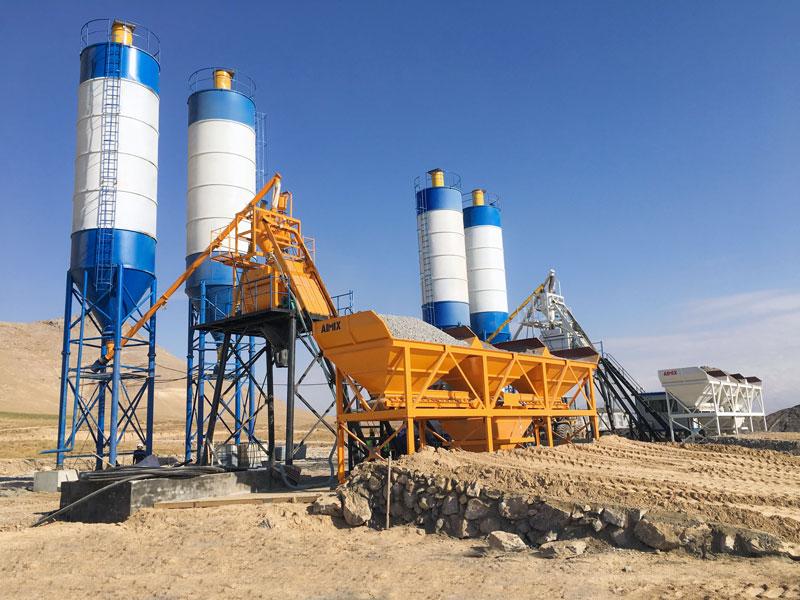 Pabrik batching AJ50 di Uzbekistan