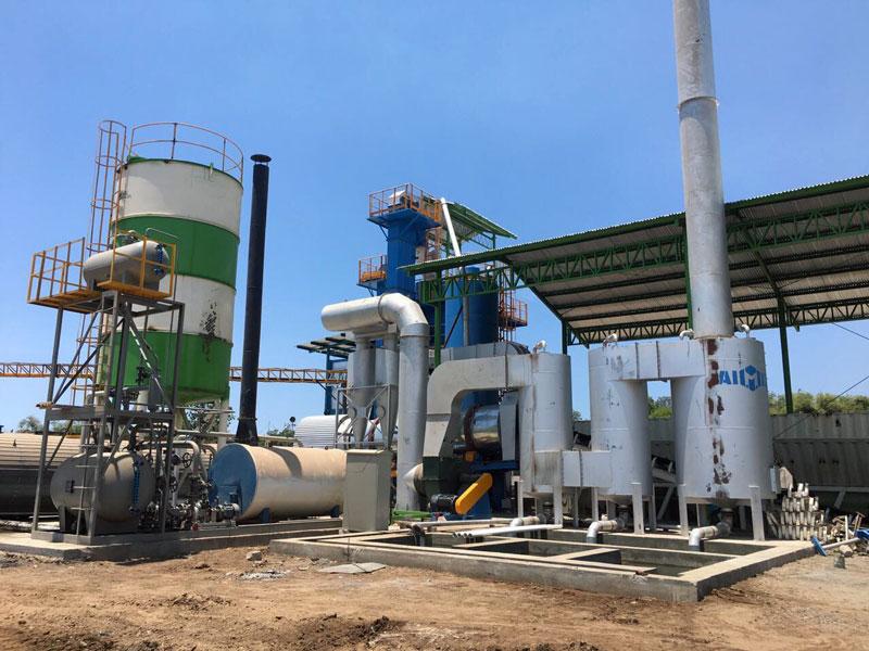 ALQ100 asphalt mixing plant