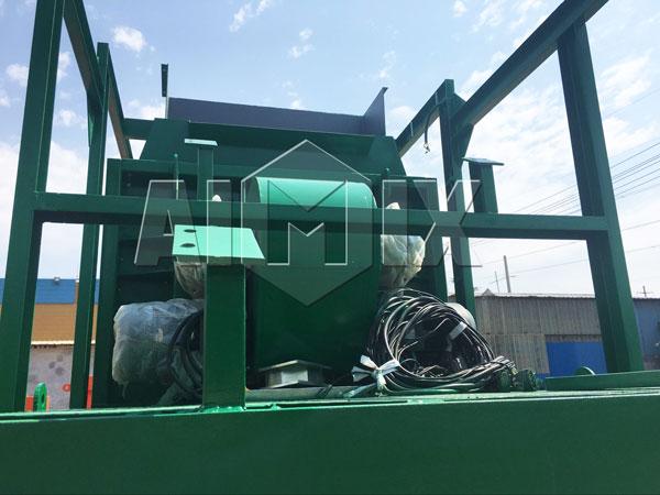 batching plant loading