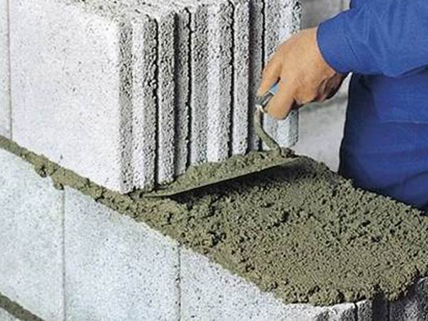 dry mortar application