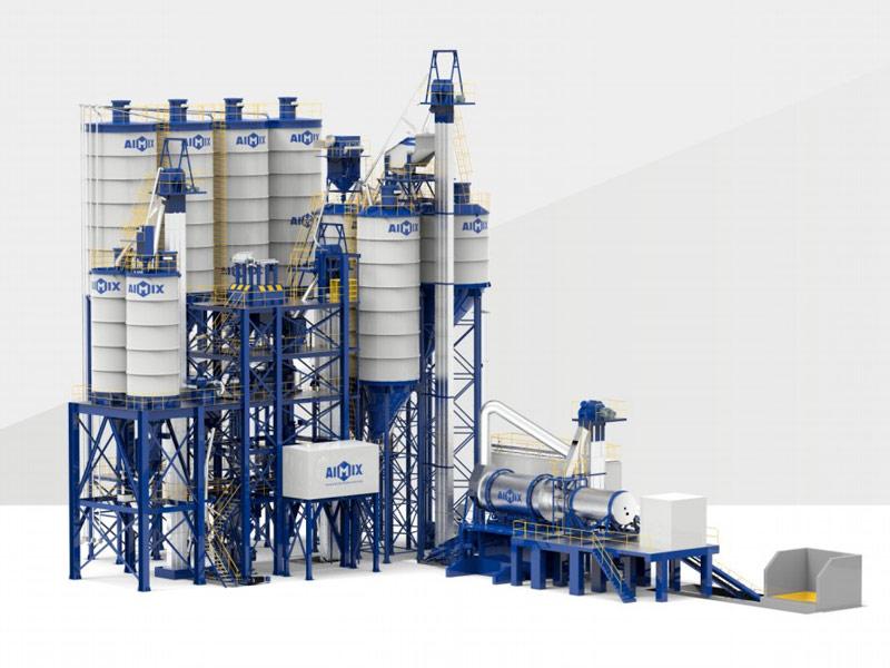 pabrik mortar kering tipe menara