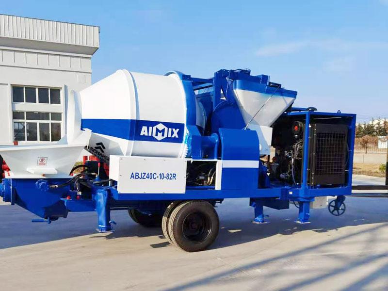 Pompa mixer diesel ABJZ40C ke Filipina