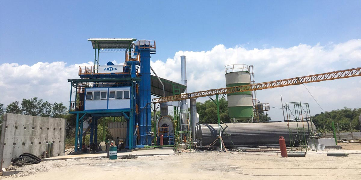 asphalt mixing plant AIMIX