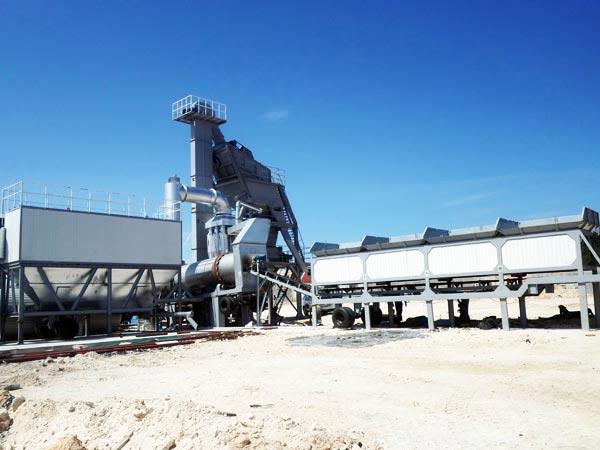 asphalt mixing plant mobile ALYQ40
