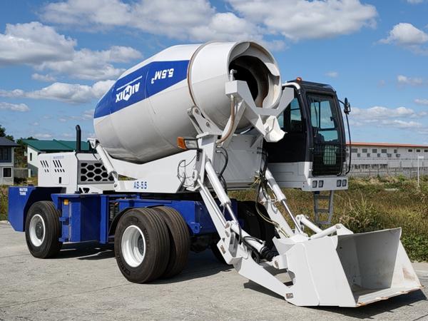 AS-5.5 self loading mixer