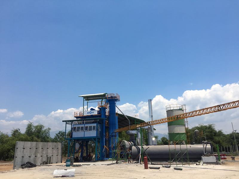 asphalt mixing plant 100t di Probolinggo Indonesia