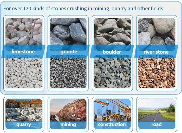 aplikasi penghancur batu stone