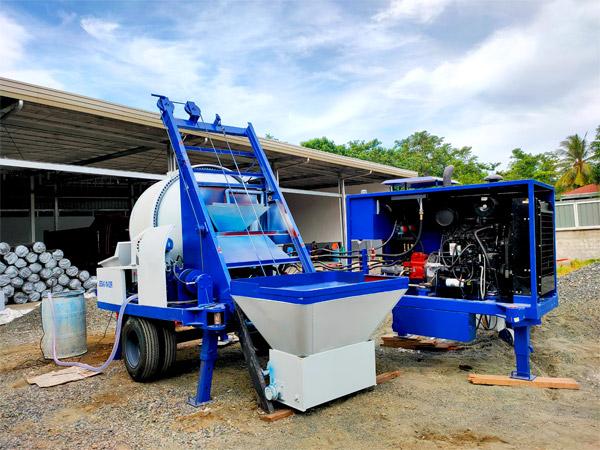 mixer pompe beton di Davao Philippines