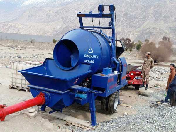pompa mixer di Pakistan